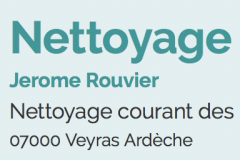 Nettoyage Privadois Rouvier