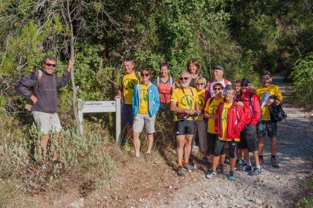 Photo de groupe de la Ronde des Bois