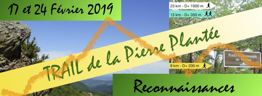 Reconnaissance Trail de la Pierre Plantée